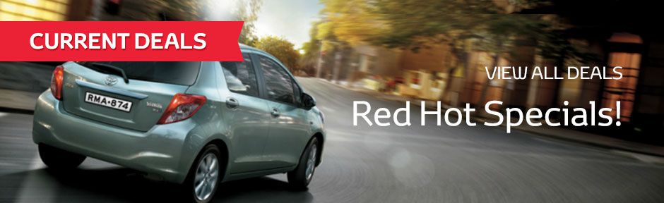 Bathurst Toyota Red Hot Specials